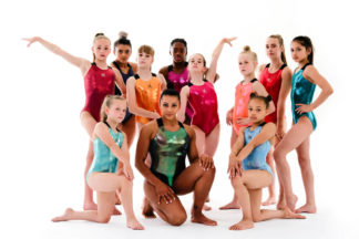 Mystique Leotard Doubledownies Gymnastics