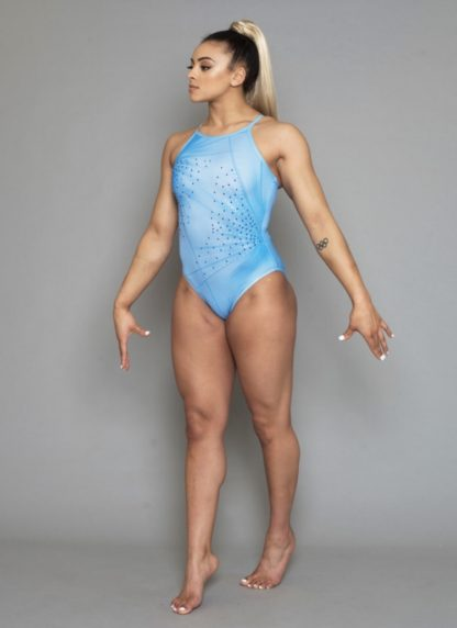 Mist Leotard Double Downie Gymnastics