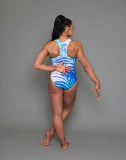 Palm Ocean Leotard Double Downie Gymnastics